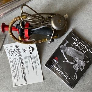 Mountain Safety Research Kitchen - MSR Whisperlite Classic Backpacking Stove